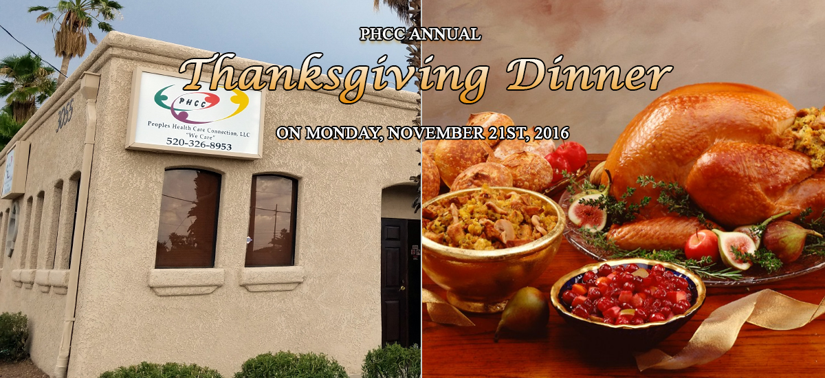 PHCC Annual Thanksgiving Dinner 2016